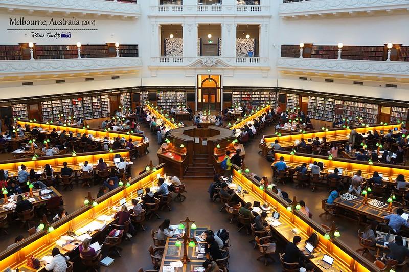 2017 Australia Melbourne Day 1 State Library of Victoria 2