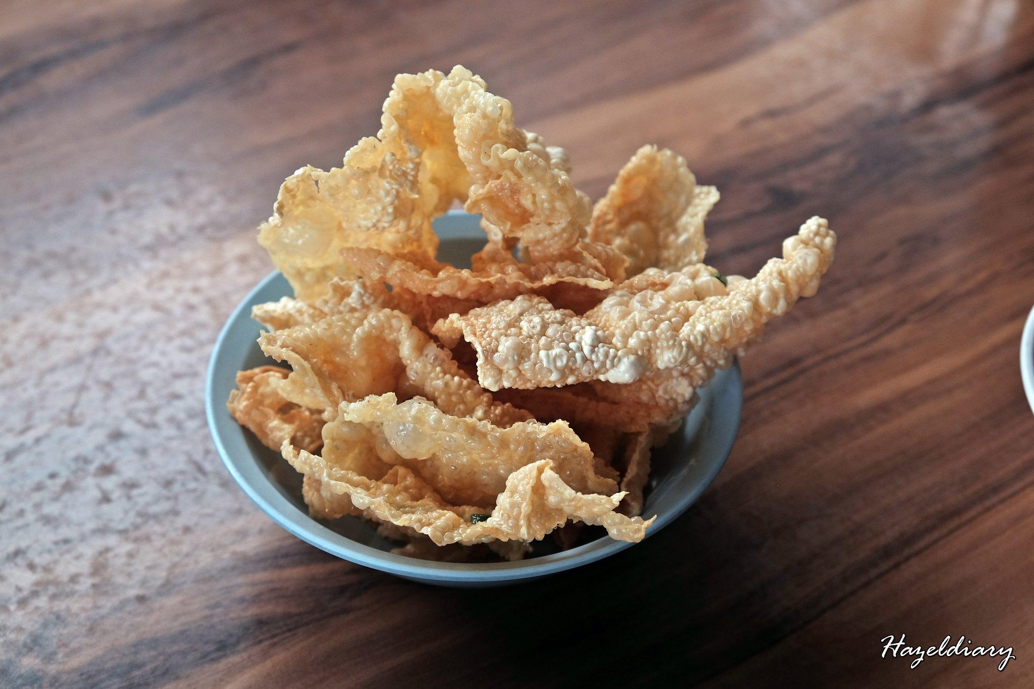 Restoran Kota Zheng Zhong-Fried Beancurd Skin