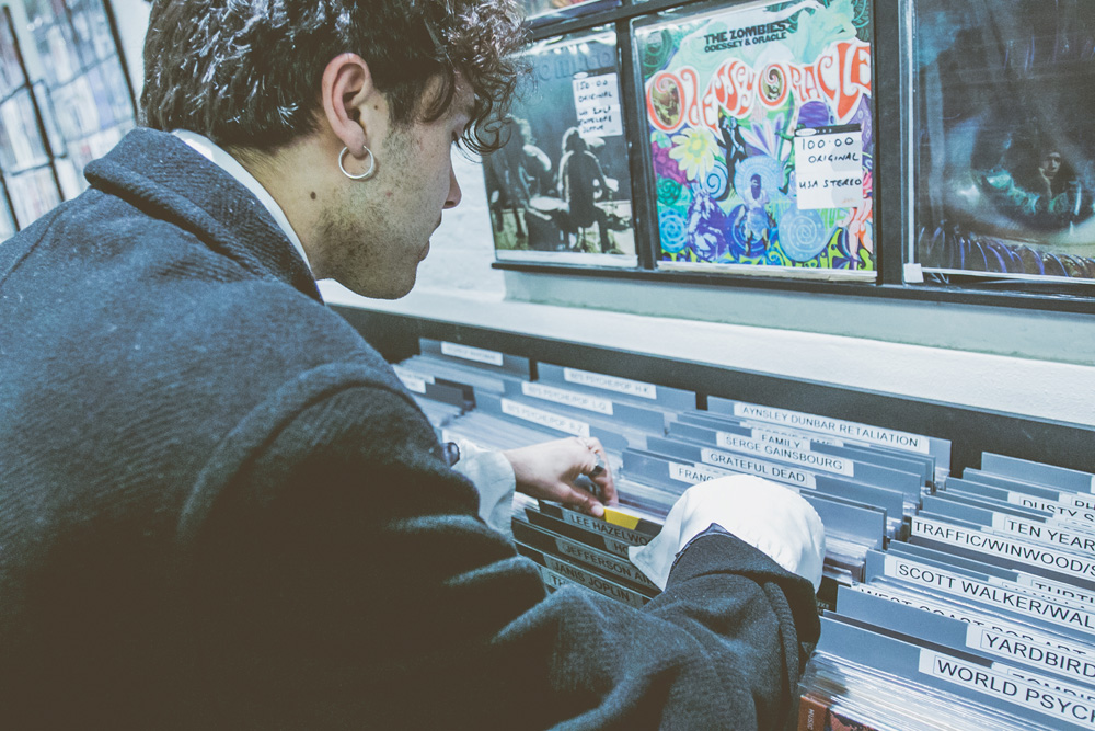 Record Shopping with... Keir
