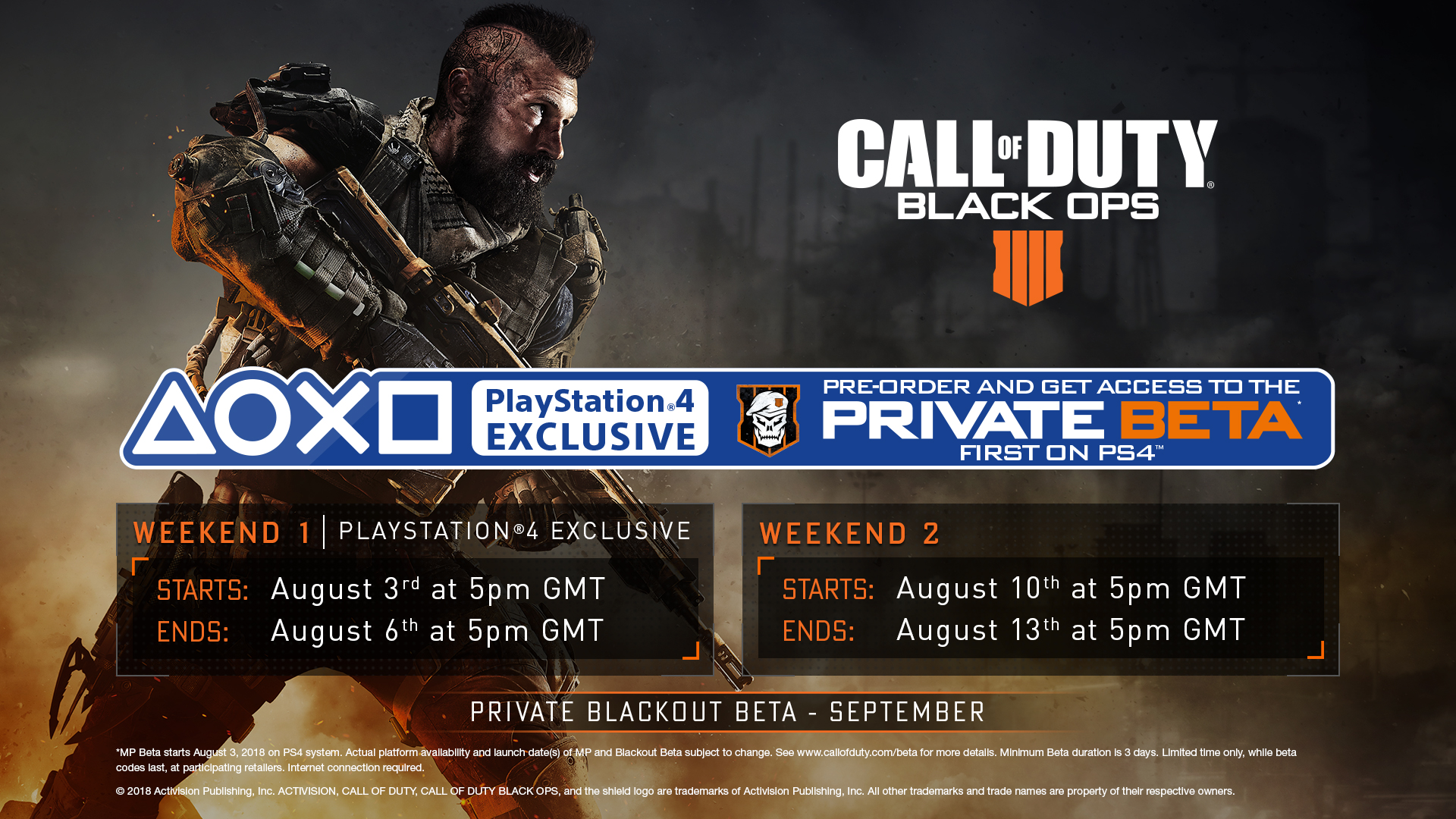 6493998fec8f Available to those who have pre-ordered Black Ops 4 for PlayStation 4