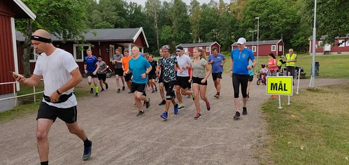 Skatås Parkrun event 39, 14 juli 2018