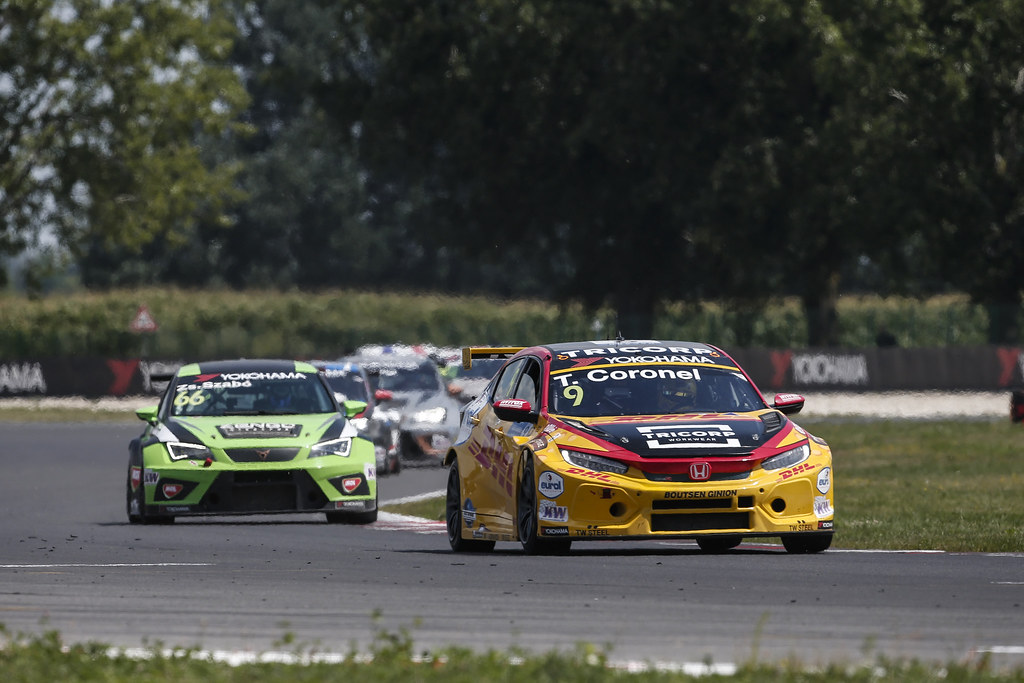 09 CORONEL Tom, (nld), Honda Civic TCR team Boutsen Ginion racing, action during the 2018 FIA WTCR World Touring Car cup race of Slovakia at Slovakia Ring, from july 13 to 15 - Photo Jean Michel Le Meur / DPPI