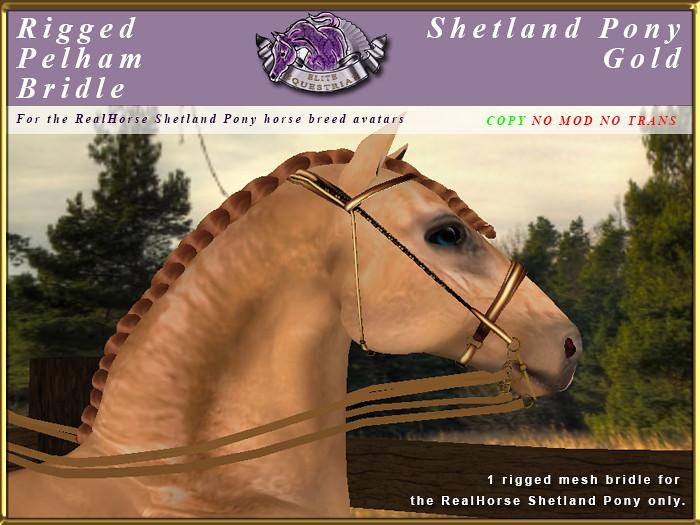 e-rh-Shetland-PelhamBridle-Gold - TeleportHub.com Live!