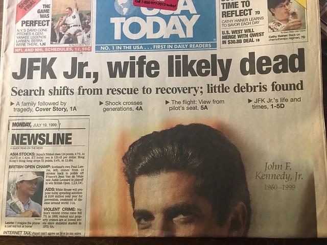 JFK Jr 19 07 1999