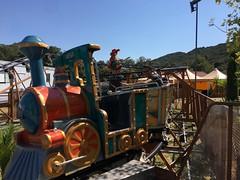 Train de la Mine Piratland, Rochefort-du-Gard, Languedoc-Roussillon, France