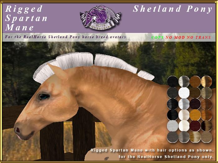 E-RH-Shetland-ManeSet-Spartan - TeleportHub.com Live!