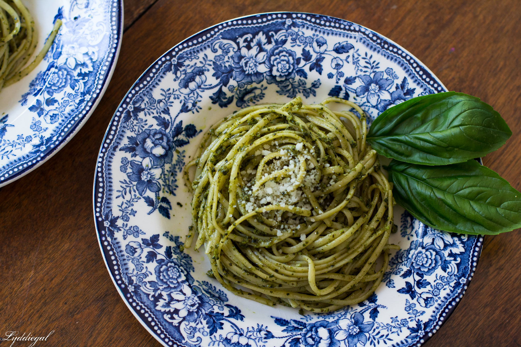 Pesto over thin linguine-1.jpg