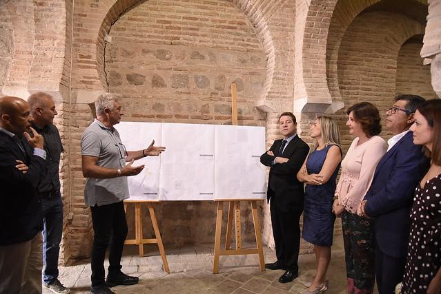 Visita a las obras de rehabilitación de la Mezquita de Tornerías