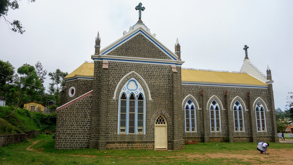 Sacred Heart Church, Yercaud, Tamilnadu, India.