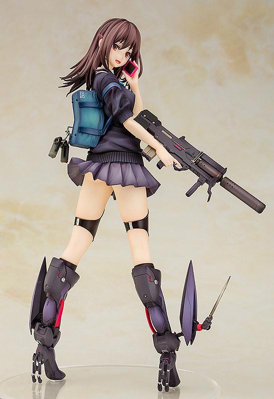 武裝✕美少女 比例模型第1彈!MAGIC MOULD《ARMS NOTE》仿生女高中生(バイオニック・ジョシコウセイ)1/7比例模型