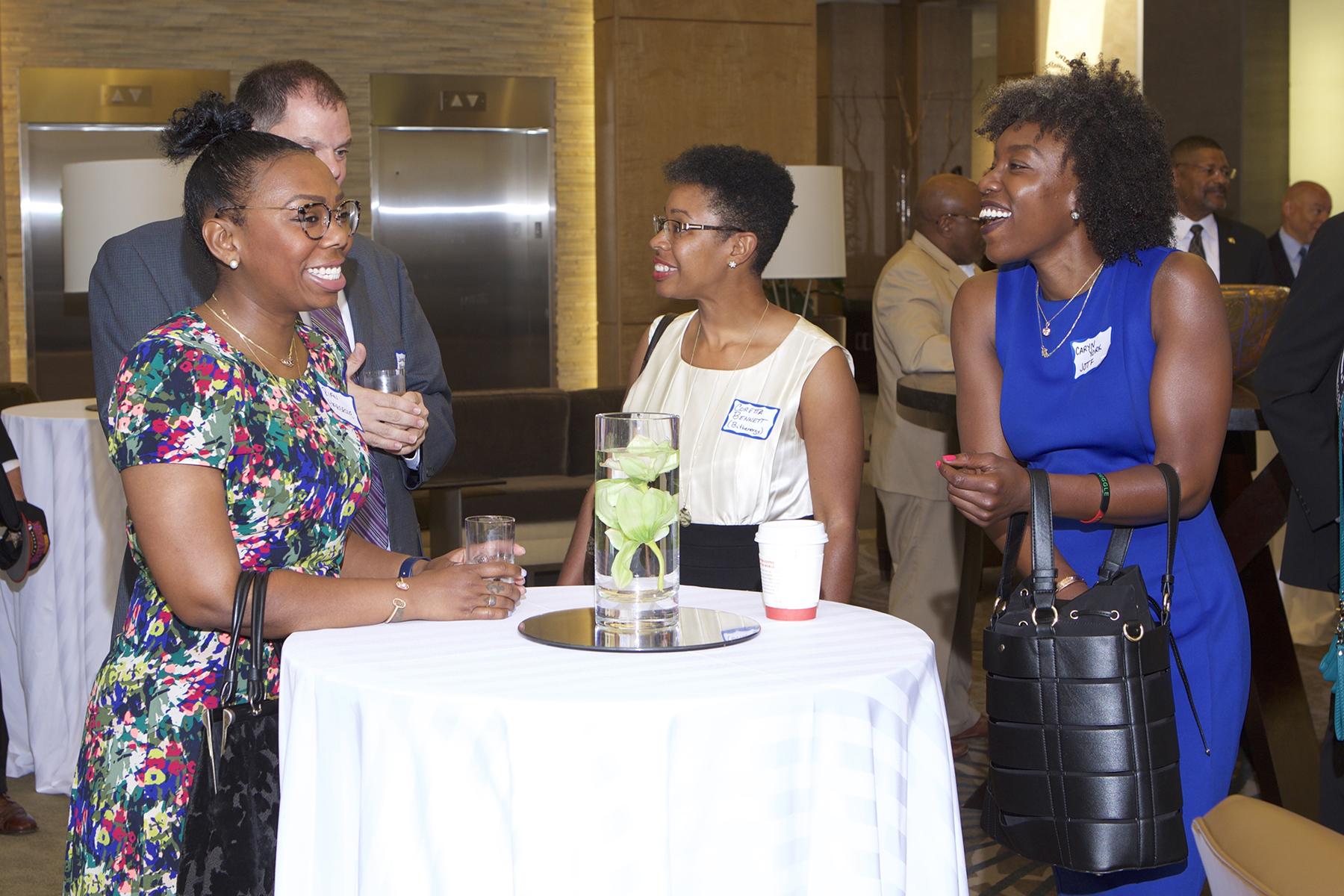 Rian Hargrave (Mahogany, Inc.), Coretta Bennett (BITHGroup) and Caryn York (JOTF)