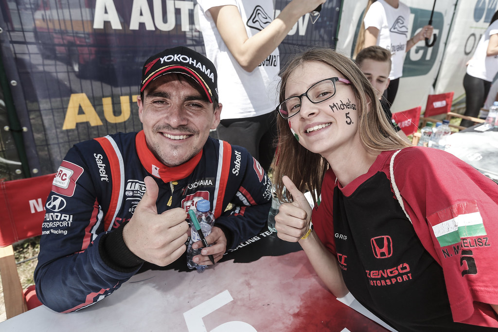 MICHELISZ Norbert, (hun), Hyundai i30 N TCR team BRC Racing, portrait during the 2018 FIA WTCR World Touring Car cup race of Slovakia at Slovakia Ring, from july 13 to 15 - Photo Jean Michel Le Meur / DPPI
