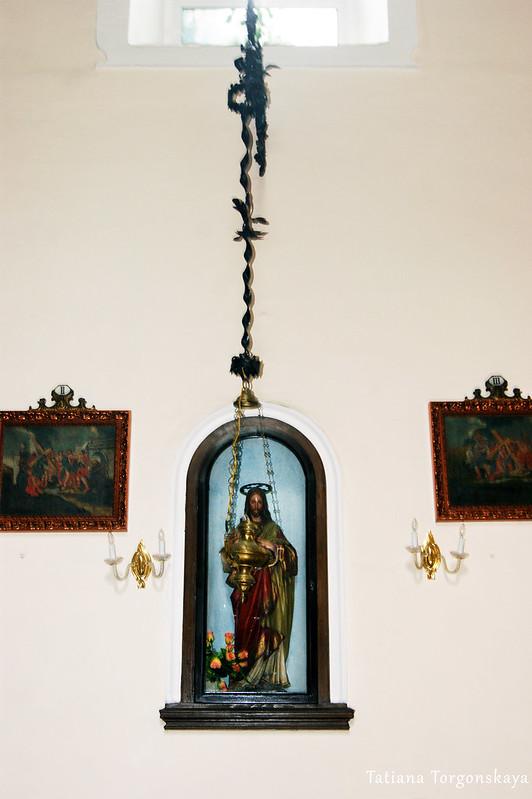Интерьер церкви Св. Клары
