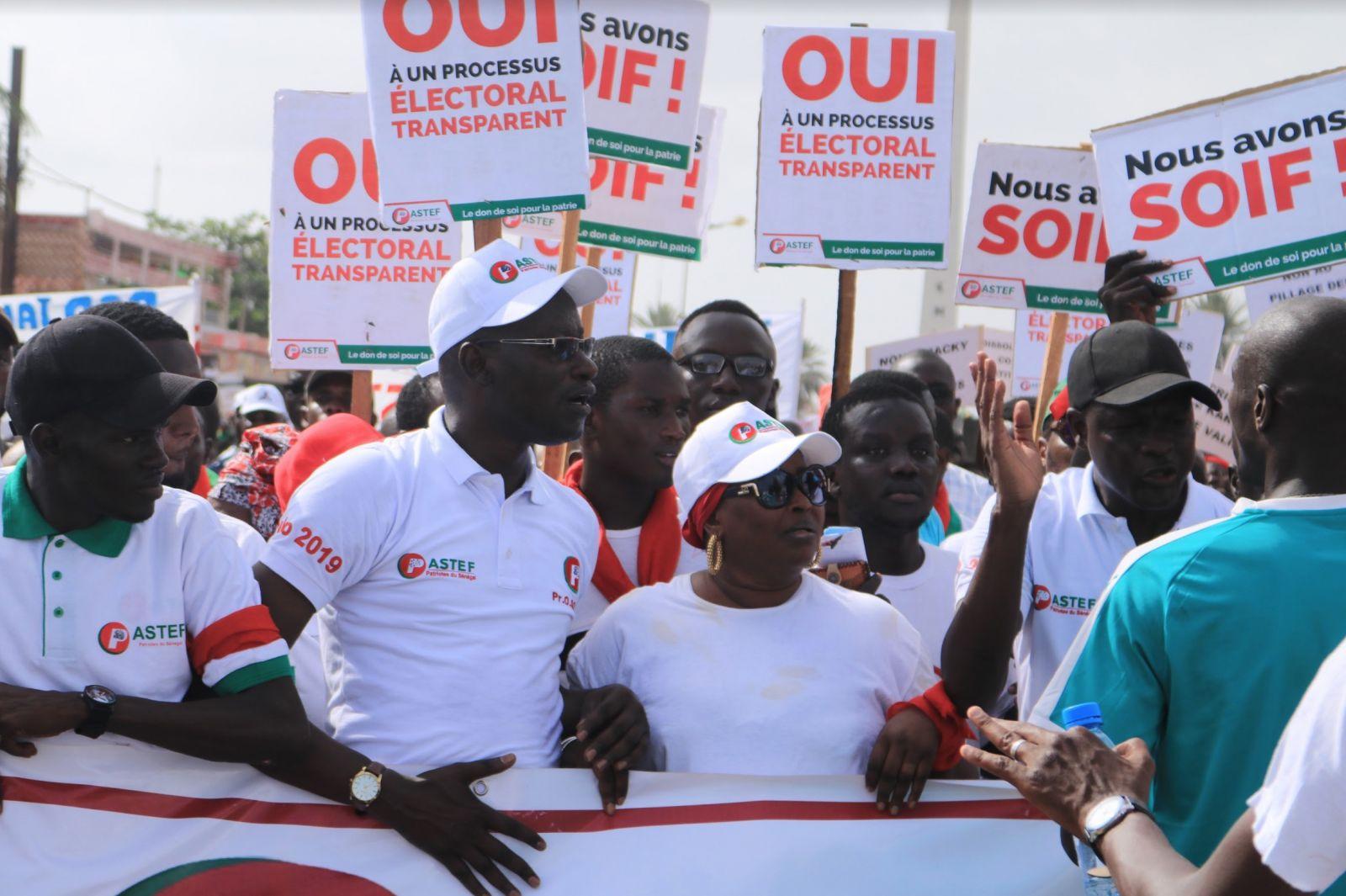 Marche de l'Opposition du 13 juillet 2018 (1)