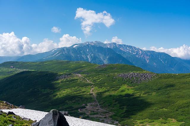 雲ノ平山荘が近づかない