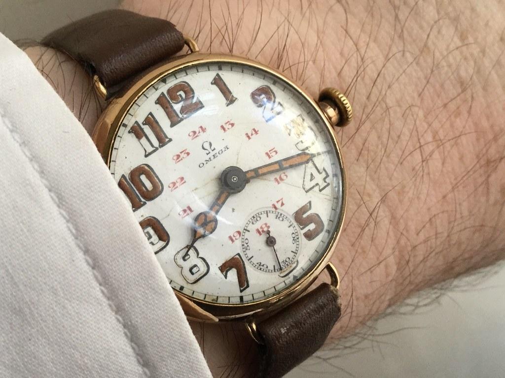Omega, 24 hour dial, circa 1918.