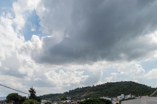 Καλοκαιρινή καταιγίδα στην Ψίνθο (26/07/2018)
