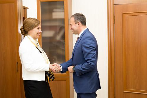27.07.2018 Întrevederea președintelui Andrian Candu cu Signe Burgstaller, Ambasadoarea Suediei în Republica Moldova