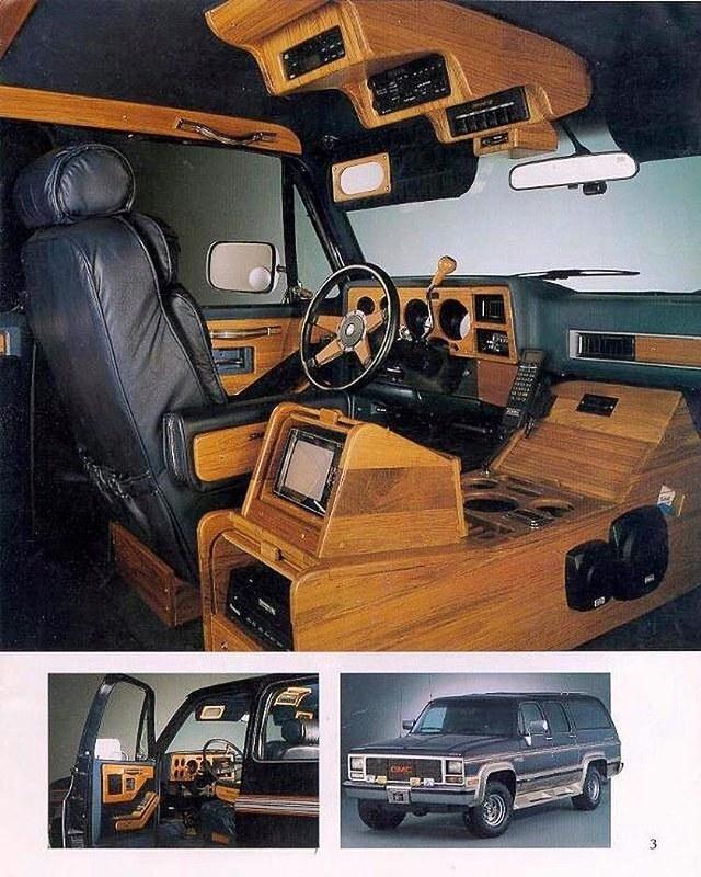 GMC Suburban Súper equipada en 1991