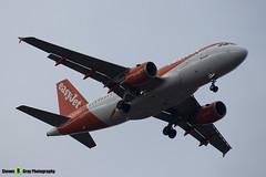 OE-LQV - 4125 - Easyjet - Airbus A319-111 - Luton M1 J10, Bedfordshire - 2018 - Steven Gray - IMG_6882