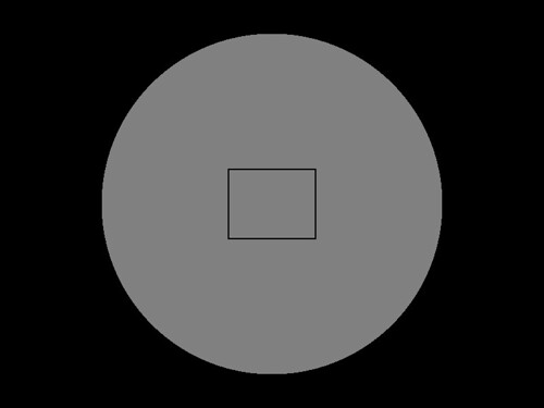 Centered Frame