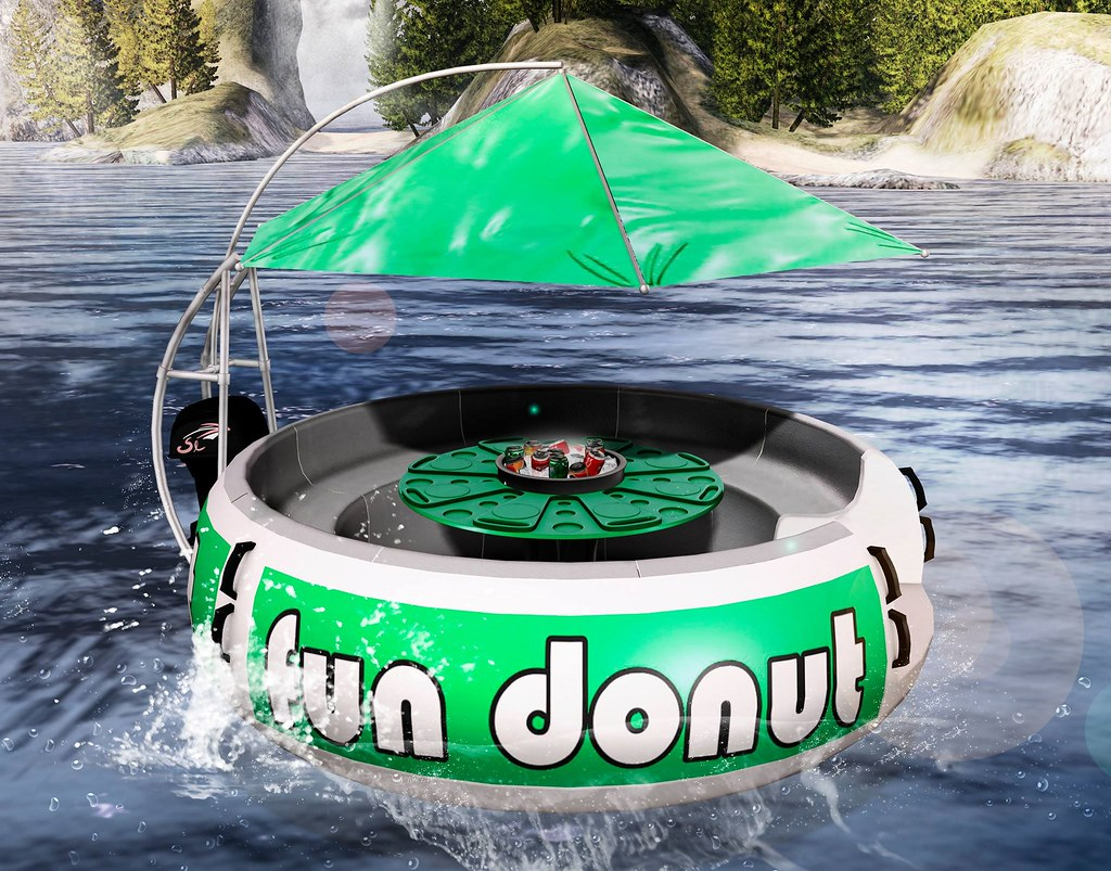 The Summer fun donut! - TeleportHub.com Live!