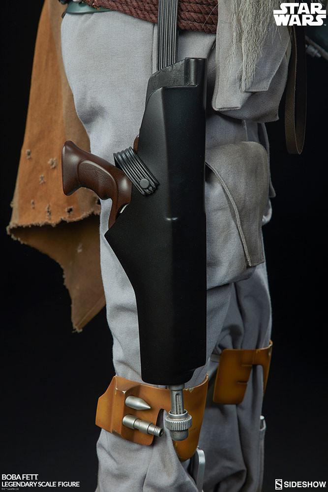 Sideshow Collectibles Legendary Scale《星際大戰》波巴·費特 Boba Fett 1/2 比例全身雕像作品