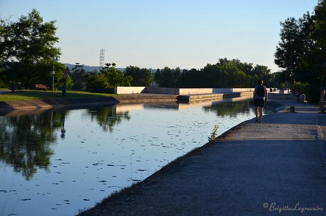 Soirée détente au Pont-canal