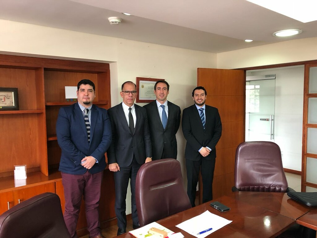 Mainstream Chile visit Colombian Energy Vice Minister and Reg Affairs dept.
