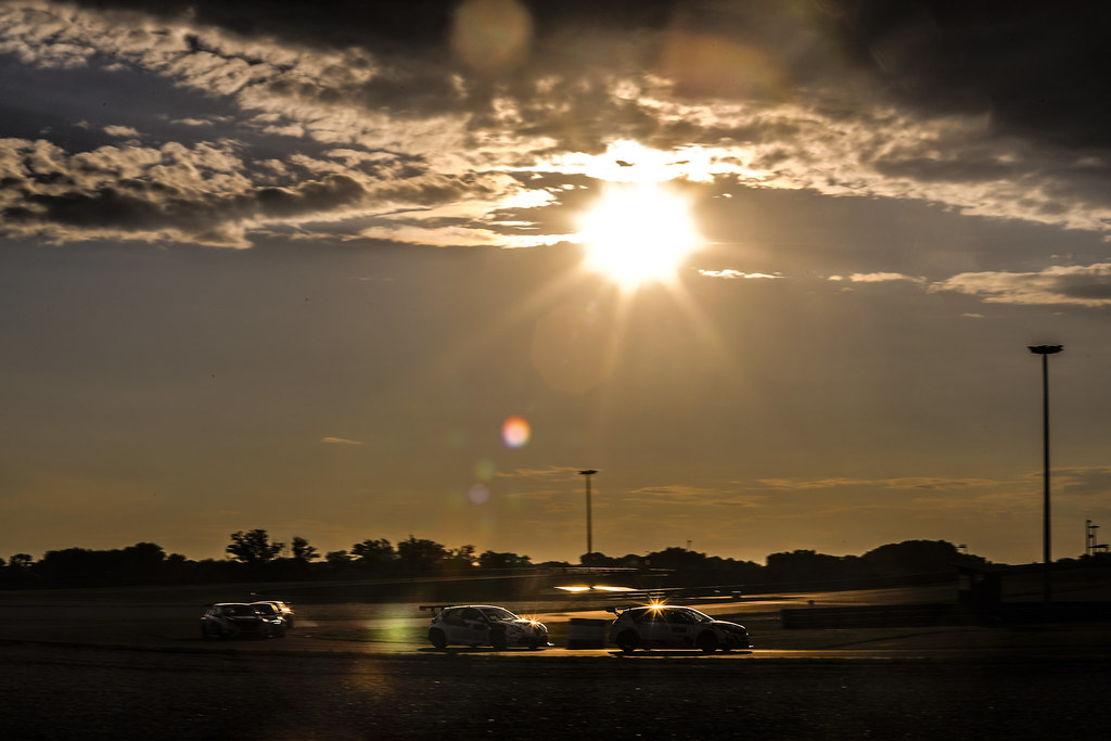 Sunset  during the 2018 FIA WTCR World Touring Car cup race of Slovakia at Slovakia Ring, from july 13 to 15 - Photo François Flamand / DPPI.