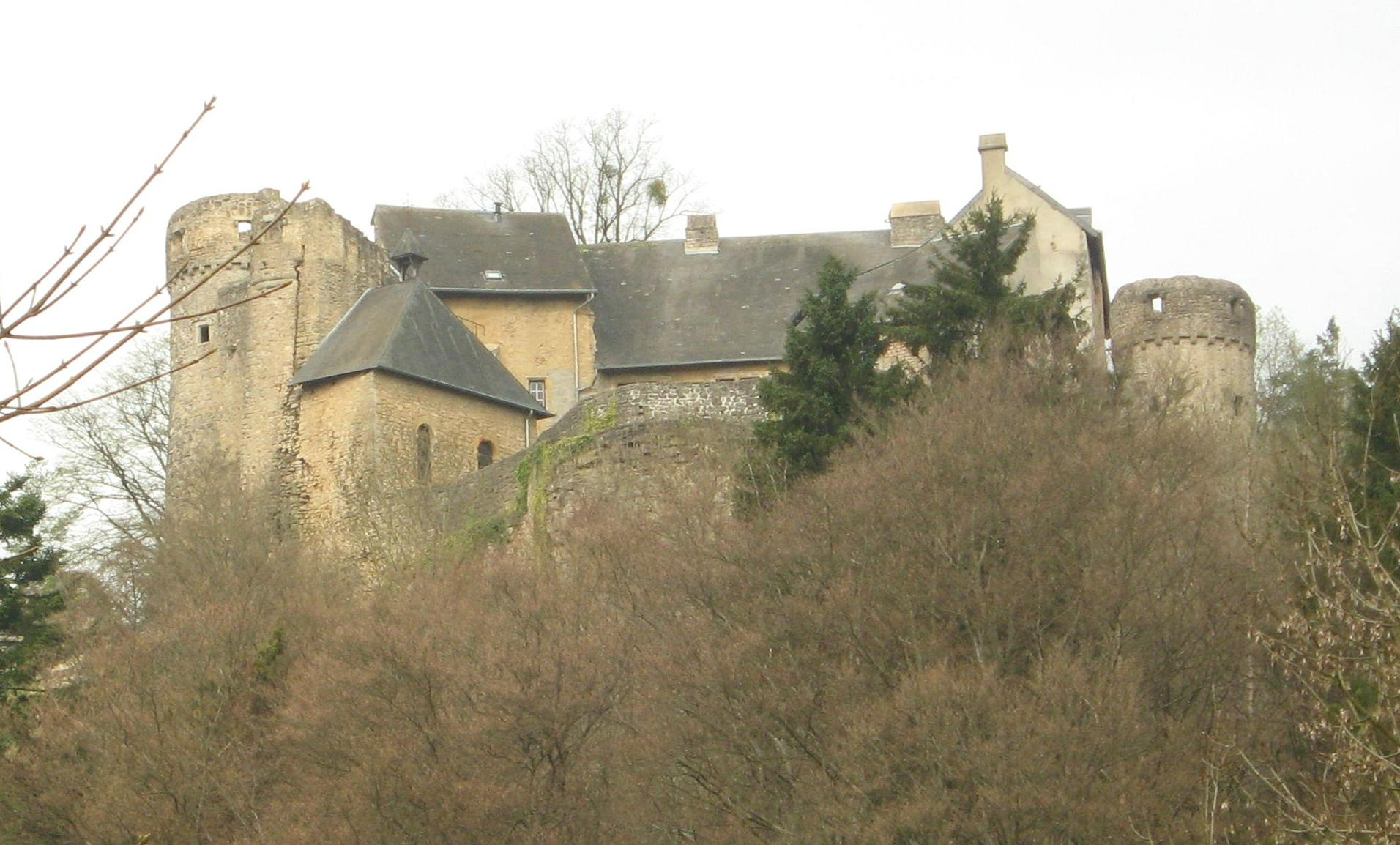 Old Ansembourg Castle, Luxembourg. Photo taken on April 5, 2011.