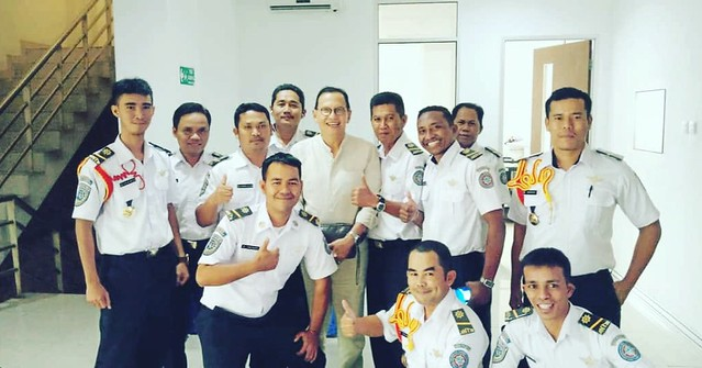 With Om Roy Marten at BPPTL Campus