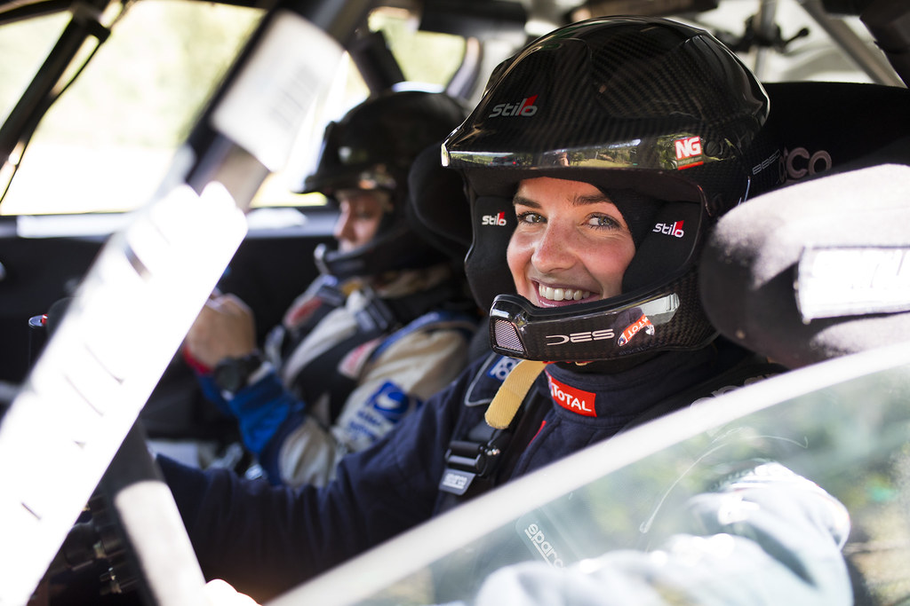 MUNNINGS Catie(gbr), STEIN Anne Katharina (deu), Peugeot 208, portrait during the 2018 European Rally Championship ERC Rally di Roma Capitale,  from july 20 to 22 , at Fiuggi, Italia - Photo Gregory Lenormand / DPPI