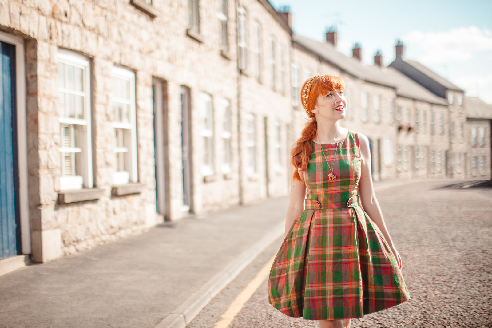 modcloth plaid dress-6