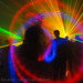 DSC08766 - Laser Show - Moving lights and shadows in warehouse underground rave party
