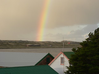 Falkland Islands Port Stanley Rainbow