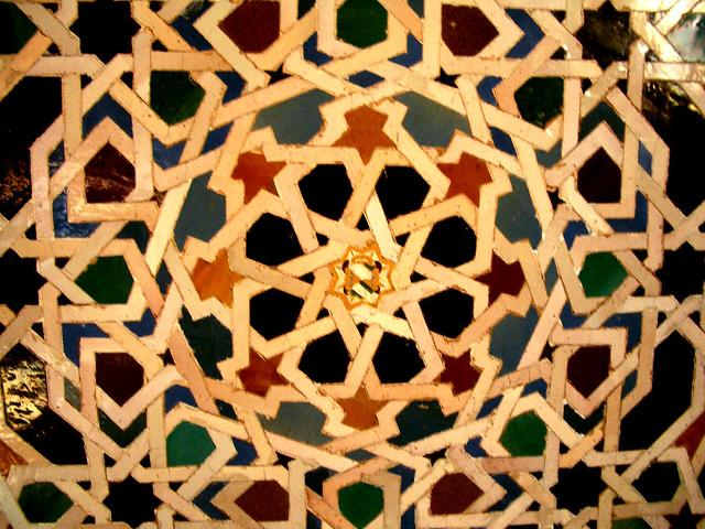 Mosaicos luz y color en la alhambra - Mosaicos de colores ...
