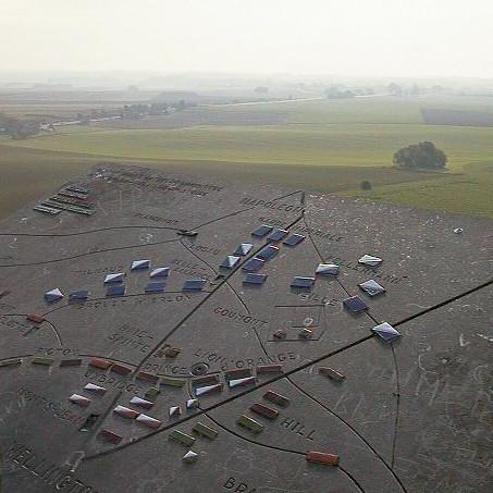 The Waterloo battlefield
