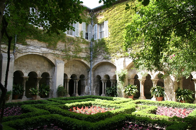 Cloisters at St Paul-de-Mausole