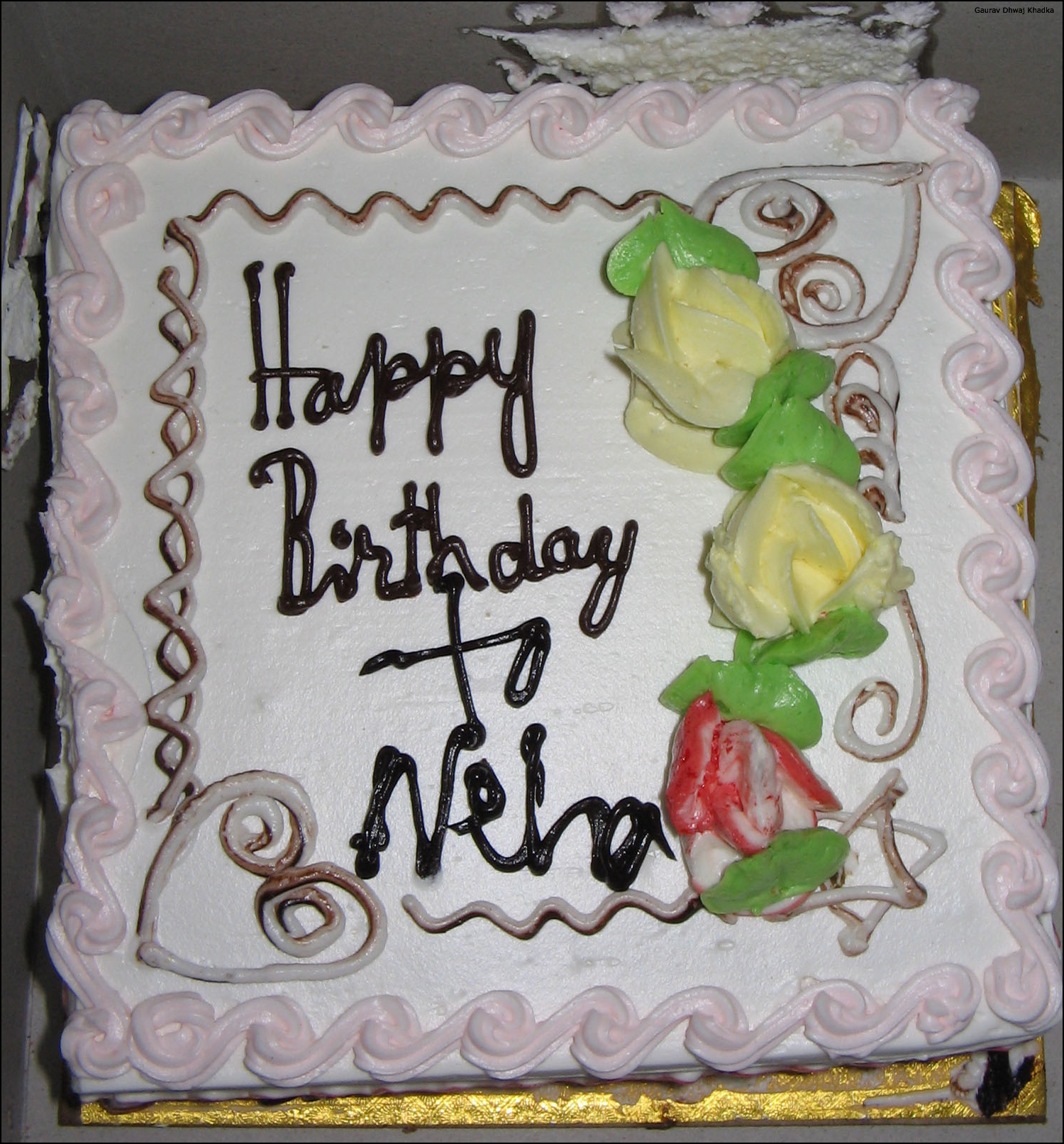 Birthday Cake Image For Neha :  Happy Birthday Neha(neha-rockks) (Page 4) 3805697 ...