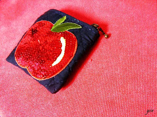 handmade! apple's wallet