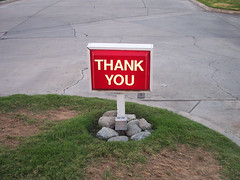 Thank You by Oren Zebest on Flickr