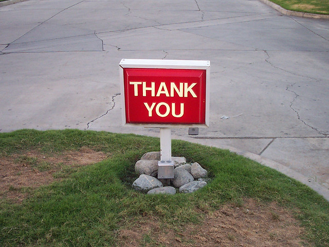 Thank You from Flickr via Wylio