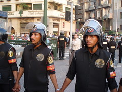 CSF conscripts barring activists from marching