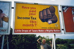 sign: Have you paid your income tax this month?