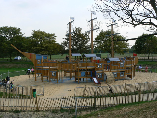 Great new adventure playground for the kids