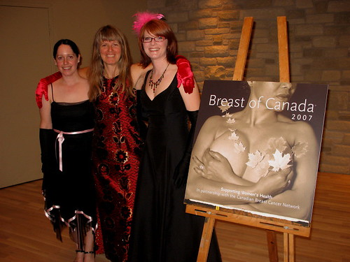 Breast of Canada Launch and Avant Breast Auction Gals by Sue Richards