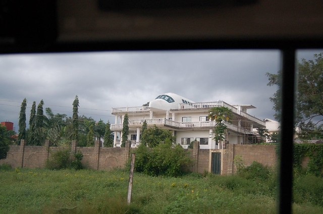 Airplane house outside Abuja