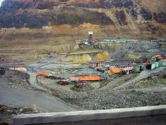 Mining in La Oroya, Peru