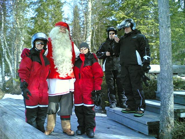 Papá Noel y amigos